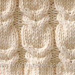 Branch Cable Stitch knitting pattern