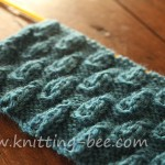 Bud Stitch Knitting Pattern