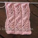 Cabled Lace Knit Stitch Pattern