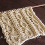 Figure 8 Rib Knit Stitch Pattern