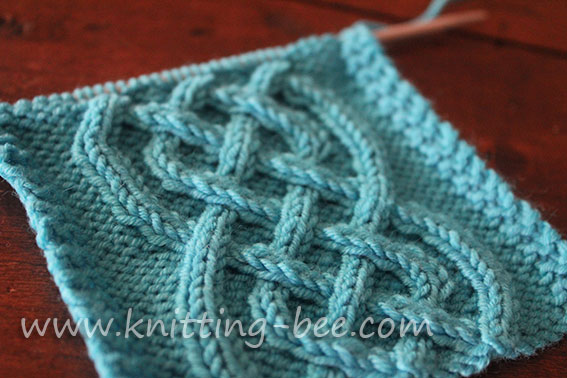 Free celtic cable stitch pattern knitting 2 knitting bee