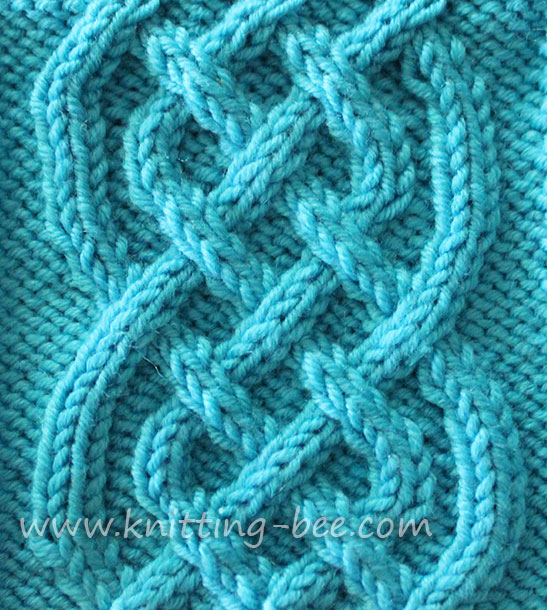 Knitting Instructions : Celtic Cable Knitting Pattern Free ? Knitting Bee