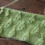 Free Bell Stitch Knitting Pattern