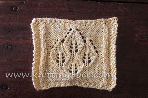 Knitting Pattern Leaf Lace : Leaf Lace Knitting Patterns Car Interior Design