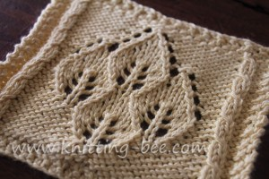 KNITTING PATTERN 2 COLOR LACE 1000 Free Patterns