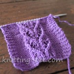 Heart Vine Lace Panel Stitch