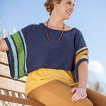 free poncho knitting pattern