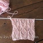 cable lace stitch free knitting pattern