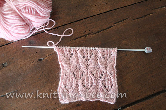 cabled-lace-knitting-stitch-pattern-1 ? Knitting Bee