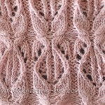 cable lace stitch free knitting pattern