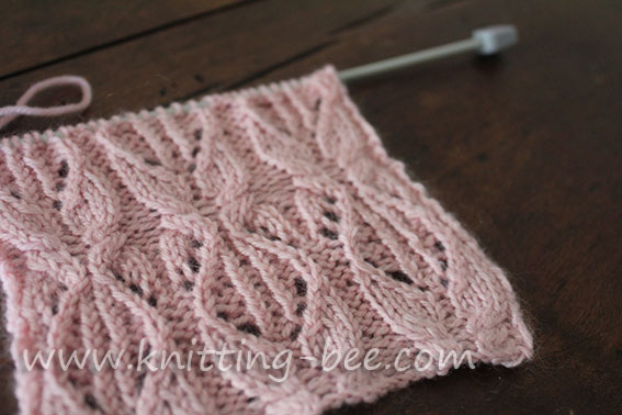 cabled-lace-knitting-stitch-pattern-2 ⋆ Knitting Bee