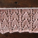 Snowdrop Lace Stitch Knitting Pattern