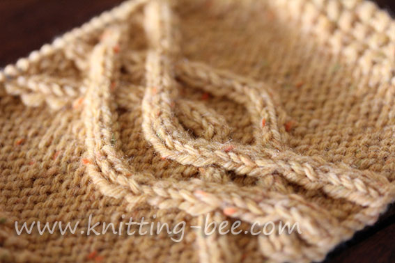 Double Knitting Patterns : Knitting Cables and Arans New Stitch A Day
