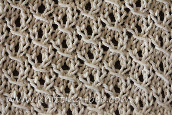 St Johns Wort Knitting Stitch Pattern Knitting Bee