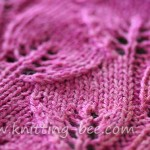 Trailing Leaves Knitting Stitch Pattern