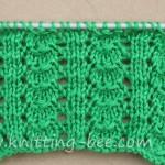 little shells knitting stitch pattern