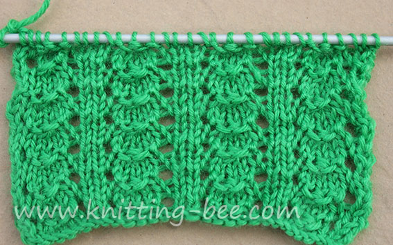 Knitting Stitches Shell Pattern : little-shells-knitting-stitch-2.jpg Images - Frompo