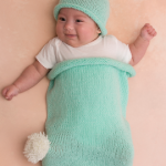 Cottontail Bunny Cocoon and Hat Knitting Pattern