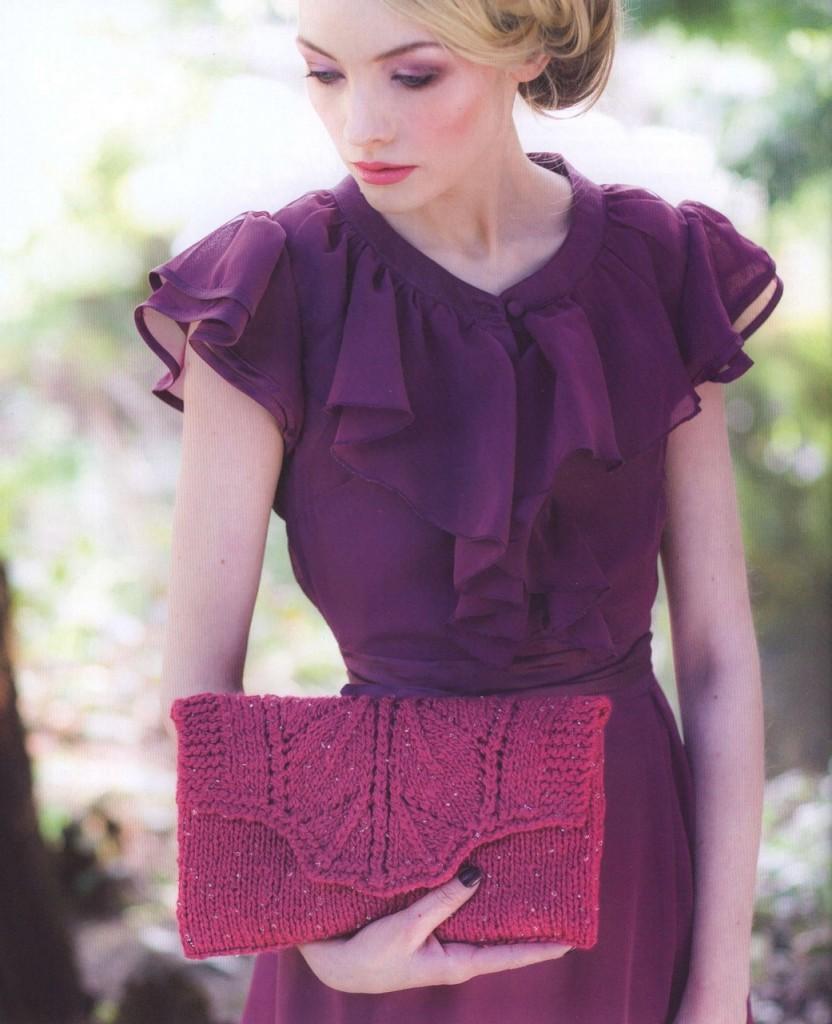 Ada Clutch Knitted Purse