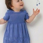 Cute Baby Knitted Dress