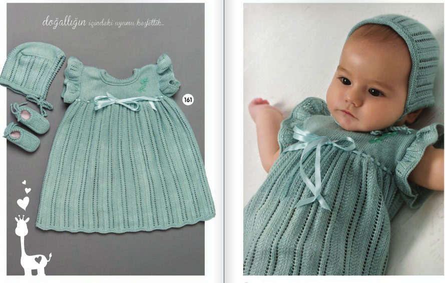 Cute Baby Knitted Dress 0 12 Months Knitting Bee