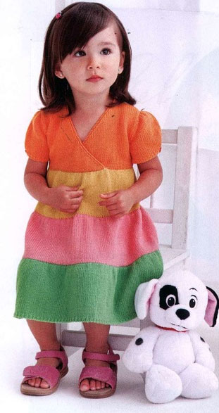 color-tiered-dress-girl-knitting-pattern