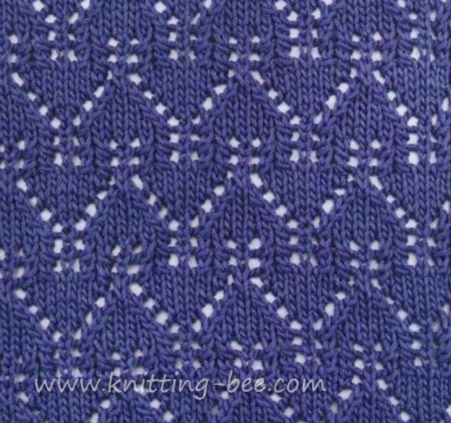 Gables Lace Pattern Stitch
