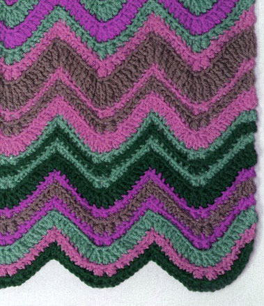 Crochet Stitches Chevron : Chevron Crochet Pattern Diagram ? Knitting Bee