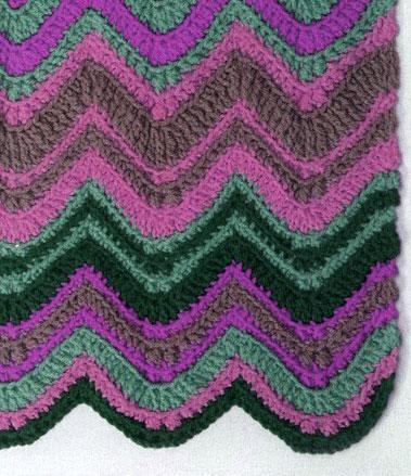 Chevron Crochet Pattern Diagram