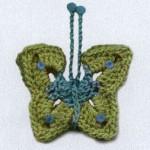 Crochet Butterfly Mobile