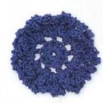 Round Crochet Flower