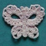 A Crochet Butterfly