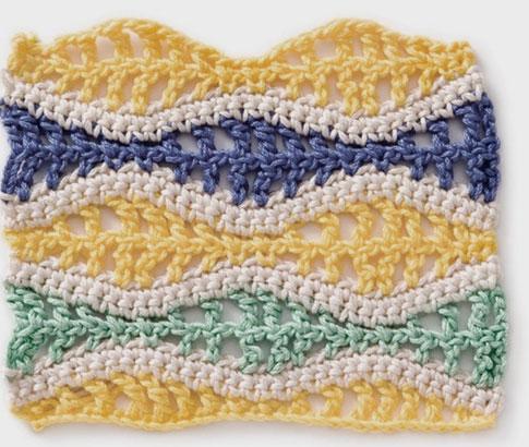 Seafoam Crochet Stitch