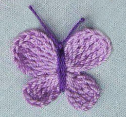 Free Knitting Pattern Butterfly Dishcloth : BUTTERFLY DISHCLOTH CROCHET PATTERN Crochet Patterns Only