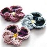 Crochet Pansy Pattern