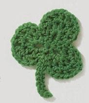 Trefoil Leaf Crochet