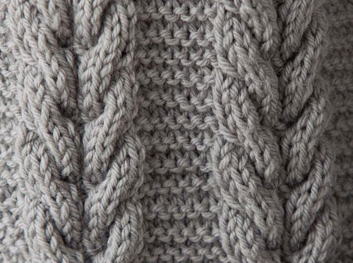 Knitting Stitch Patterns Cable : Knitting Stitches Library images
