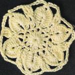 Circular Flower Crochet