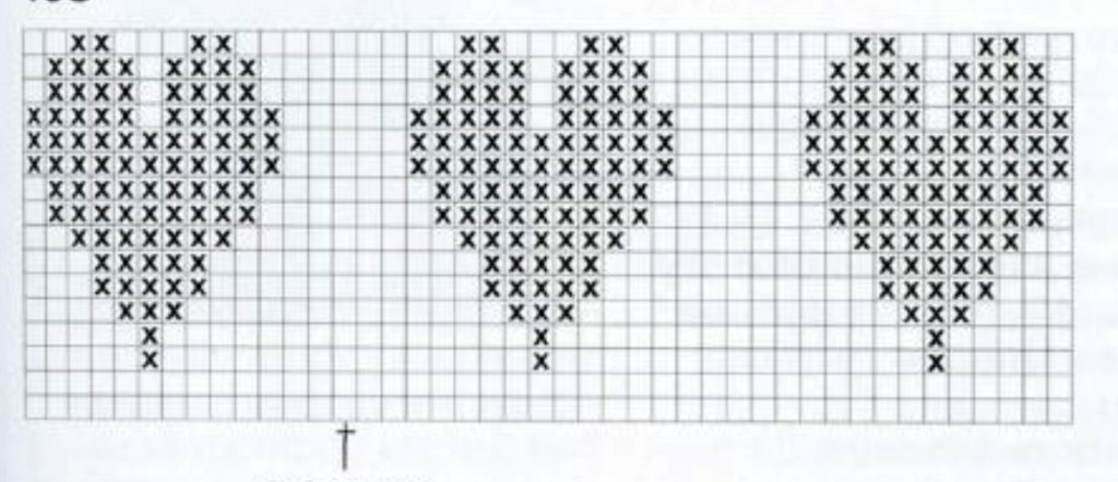 colorwork-hearft-motif-knitting-chart