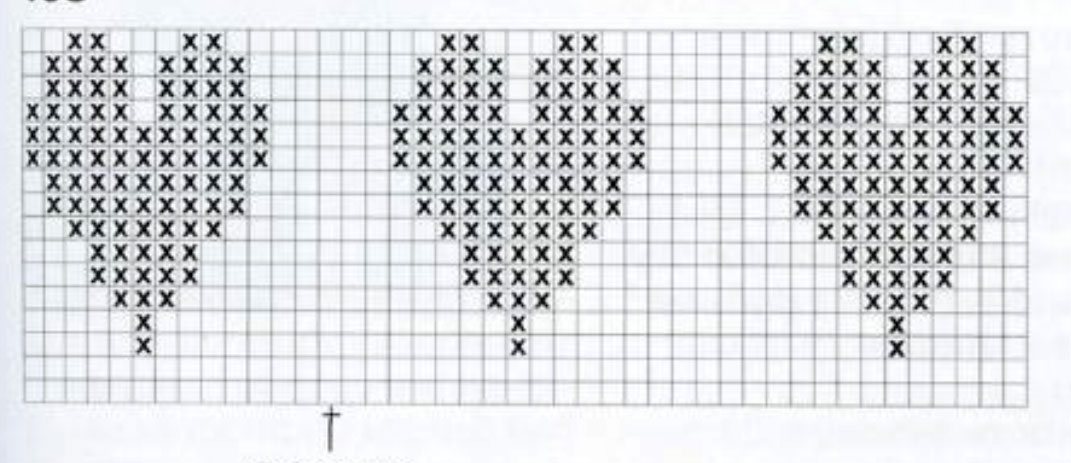 Knitting Pattern For Heart Motif : Heart Motif Knitting Pattern - Bing images
