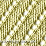 free diagonal lace stitch
