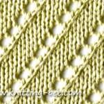 free diagonal lace stitch