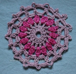 Circle to square granny square tutorial free pattern by just be.