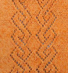 Double Diamond Lace Motif