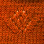 Lace Flower Knitting Motif