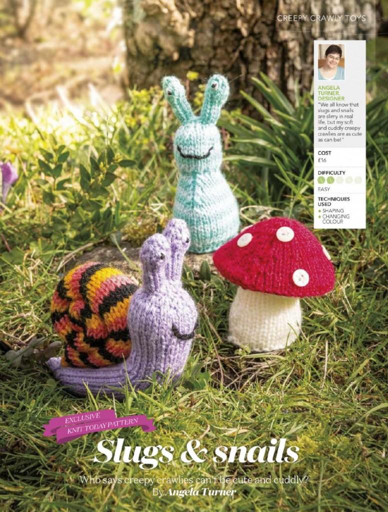 Slug, Snail and Mushroom