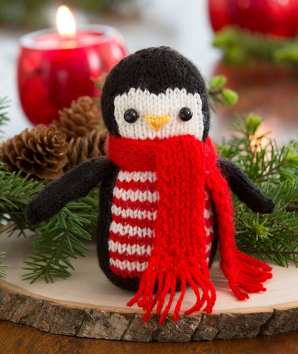 Cheerful Holiday Penguin