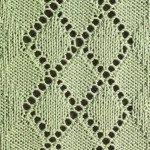Argyle Styled Lace Pattern