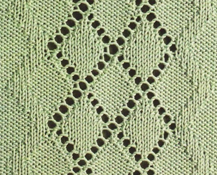 Argyle Styled Lace Pattern