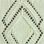 Diamond and Triangle Lace Panel
